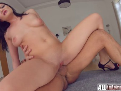 Big tit Dolly gets creampied