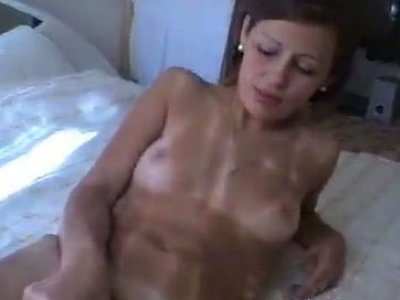 Russian nymphos have a threesome with a horny stud