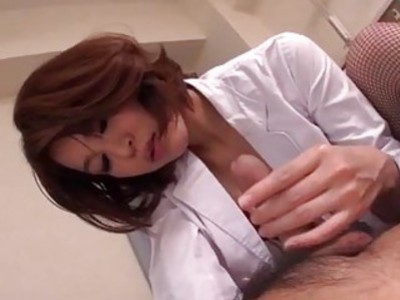 Hardcore sex with milf in red lingerie Erika Nishino