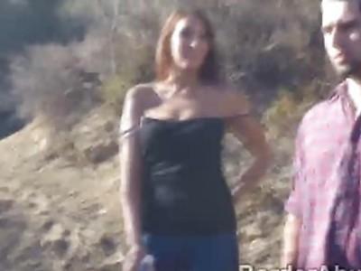 Border officer fucks makes hot intruder moans of pleasure