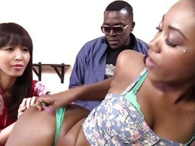 Marica Hase And Chanell Heart Take A BBC